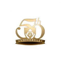 Figura Pastel Metálica 50 Aniversario Inicio5,64 €