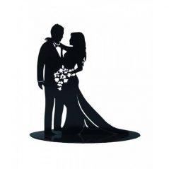 Figura Pastel Metálica Enamorados Inicio5,64 €