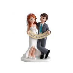 Figura Pastel Just Married Inicio