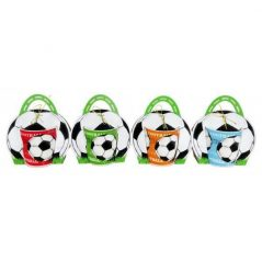 Taza Fútbol en Bolsa de Regalo Detalles Comunión para Niños