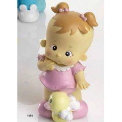 Hucha Bebé Rosa Coletitas