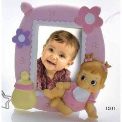 Portafotos Bebé Rosa