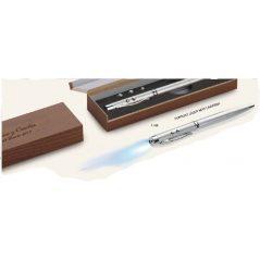Estuche Aluminio Bolígrafo Linterna y Laser