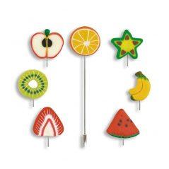 Alfiler Frutas Alfileres de Fimo
