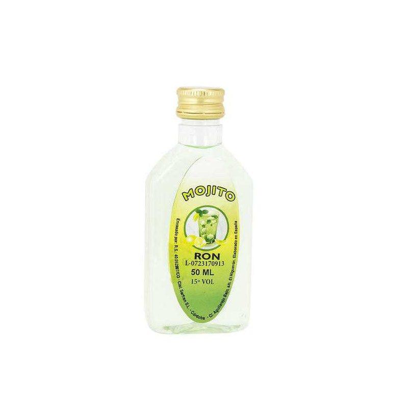 Petaca Mojito 50 ml Plástico Botellitas y Miniaturas para Bodas