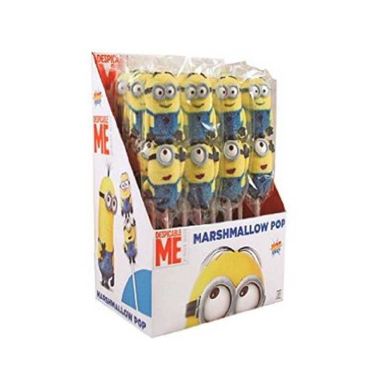 MARSMALLOW POP MINNIONS Golosinas y Tartas de Chuches0,98 €