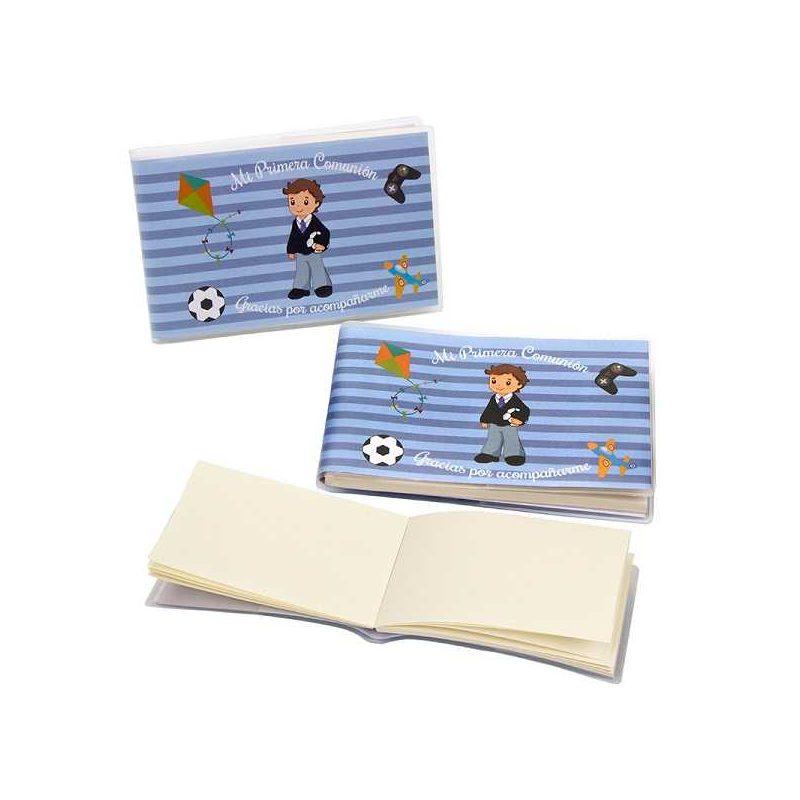 Libreta Niño Comunión Futbol Recuerdos de Comunion 3b62bf800d335