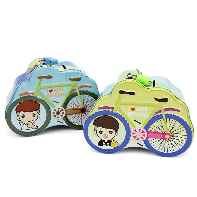 Hucha Niño Bicicleta