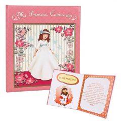 Libro Firmas Comunión Niña Flores Detalles de Comunión10,92 €