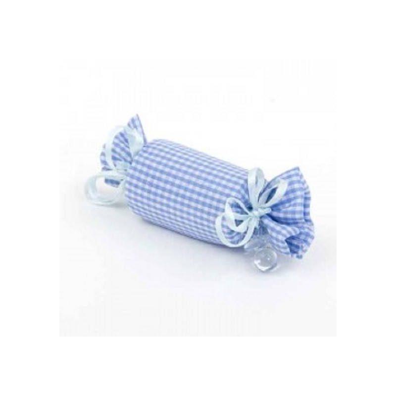 Bolsa con Forma de Caramelo Azul Inicio