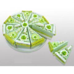 Set 10 Cajas Porción Pastelito Verde