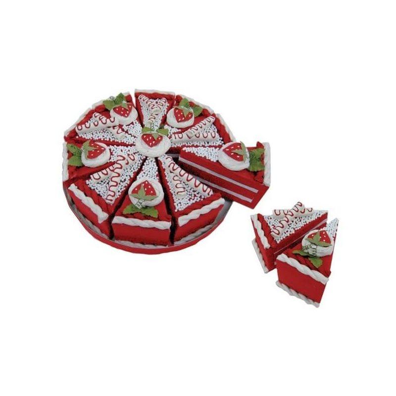 Set 10 Cajas Porción Pastelito Roja Presentaciones de Comunión17,61 €