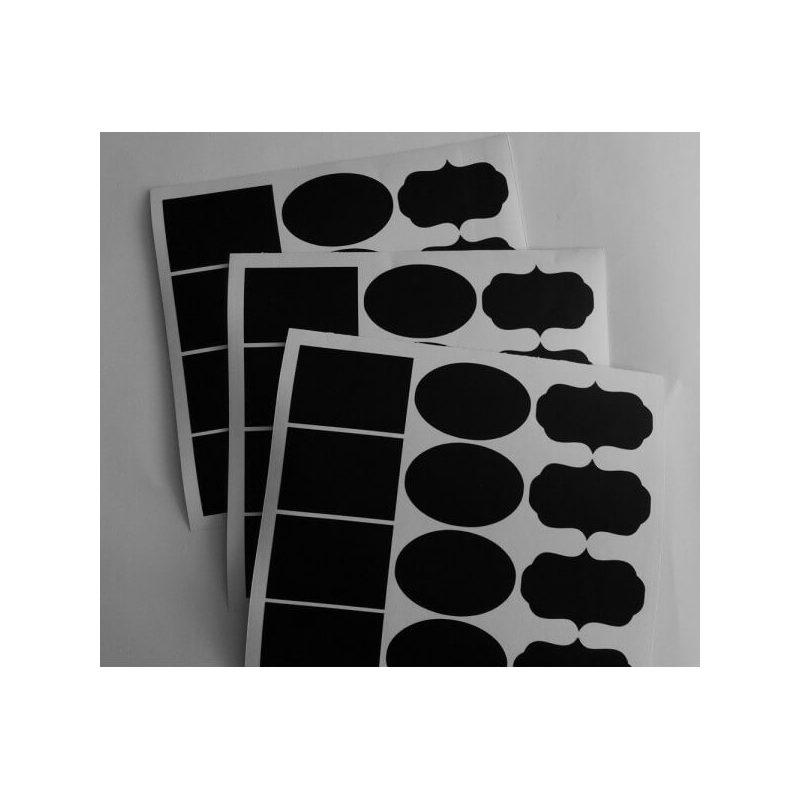 Lote 36 Etiquetas Pizarra Tarjetas de Boda Gratis12,31 €