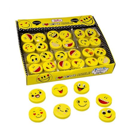 Set Gomas de Borrar Emoticonos