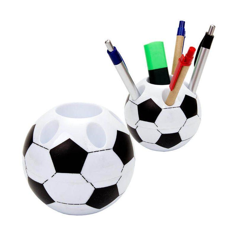 Lapicero Balón Futbol Negro - Azul