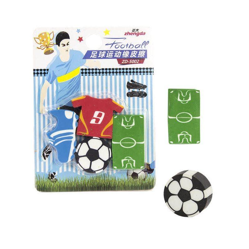 Set de Gomas Futbol
