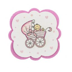 Posavasos bebé Rosa