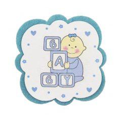 Posavasos bebé Azul Detalles de Bautizo Baratos0,64 €