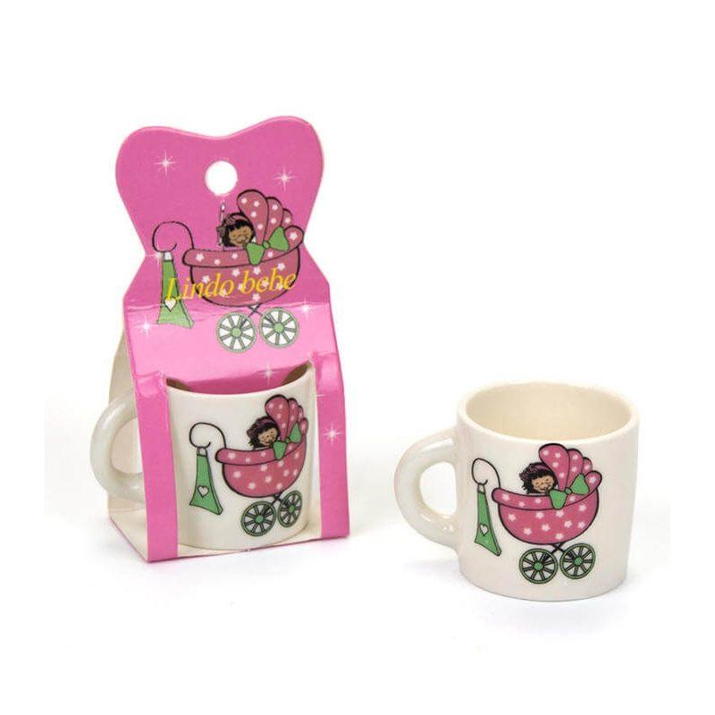 Taza Mini Bebé Rosa