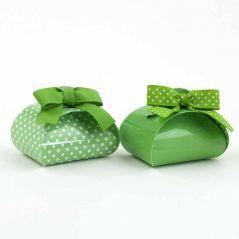 Caja Verde con Bombones Detalles de Boda Baratos
