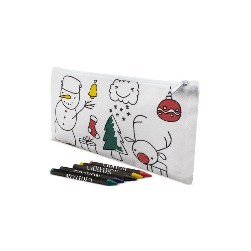 Estuche Navidad para Pintar Detalles para Niños