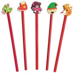 Set Lápices Navidad Detalles para Niños