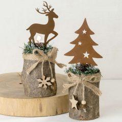 Lote Portavelas Navidad
