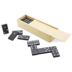 Dominó Negro en Caja de Bambú Detalles Primera Comunión