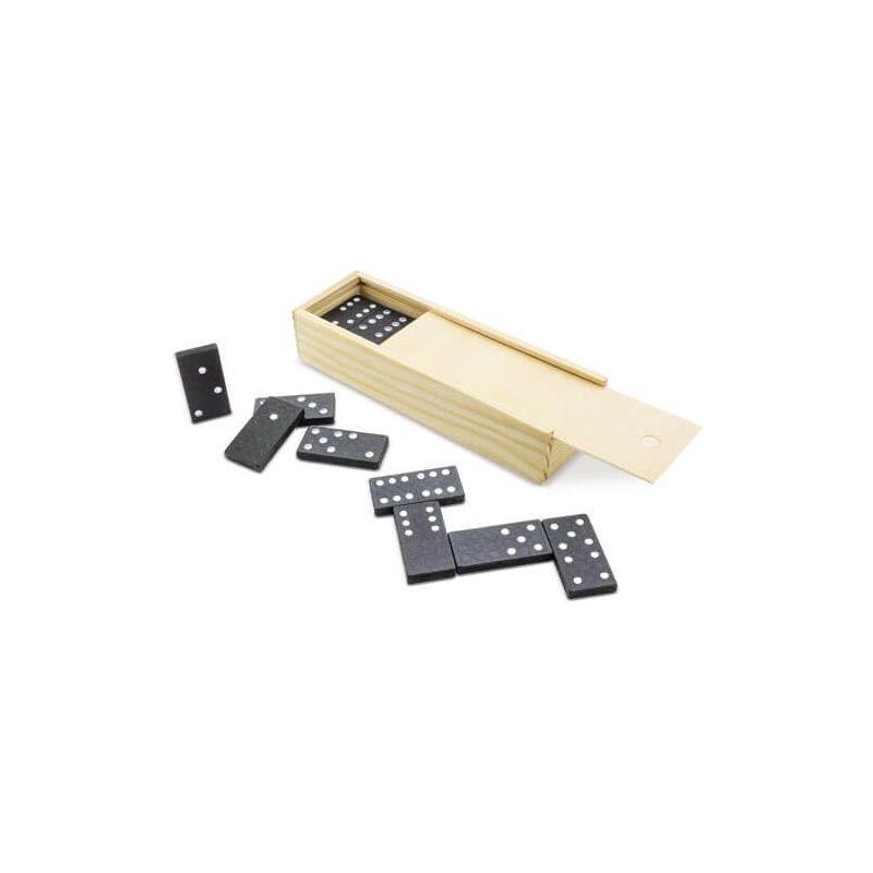 Dominó Negro en Caja de Bambú Detalles de Comunión Daery-1005