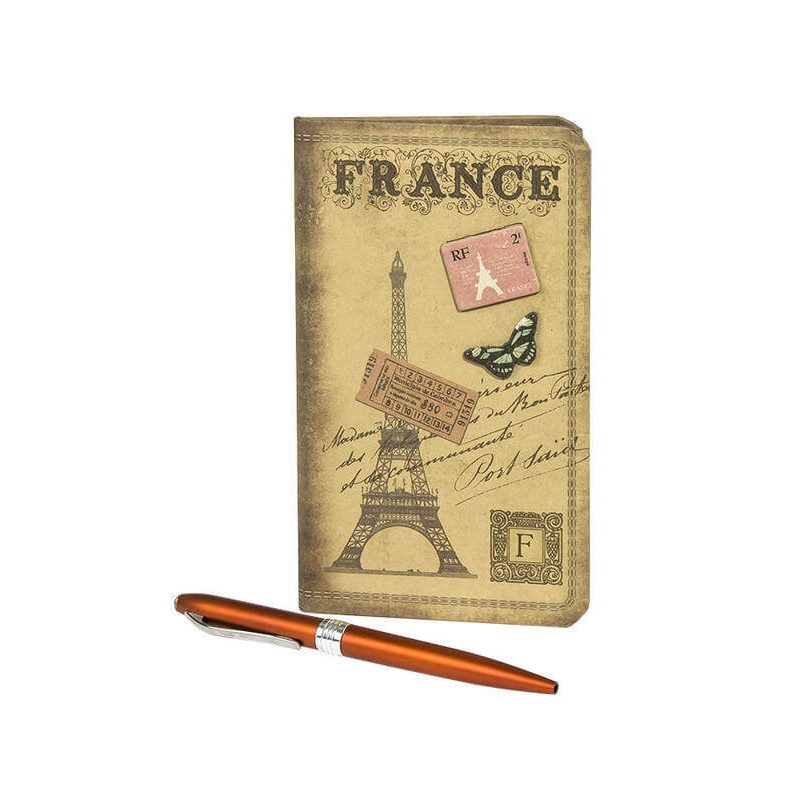 Agenda France con Boli Detalles de Boda Baratos