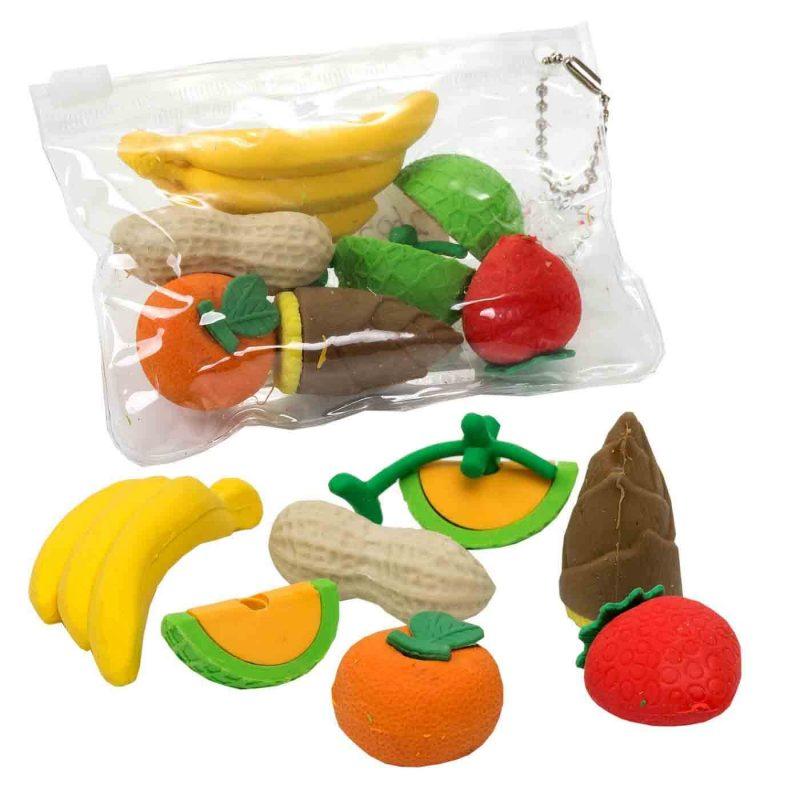 Gomas de Borrar Frutas Recuerdos de Comunion
