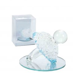 Chupete Cristal Celeste en Caja Detalles de Bautizo Baratos