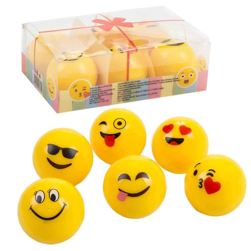 Brillo Labial Emoji Regalos Originales | Detalles Niñ@s | Otras0,80 €