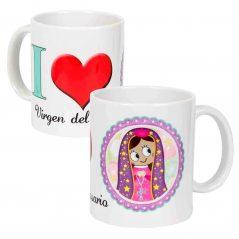 Taza Virgen del Rosario Tazas Personalizadas Originales