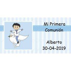 Tarjeta Niño Marinero Paloma Tarjetas para Comunión