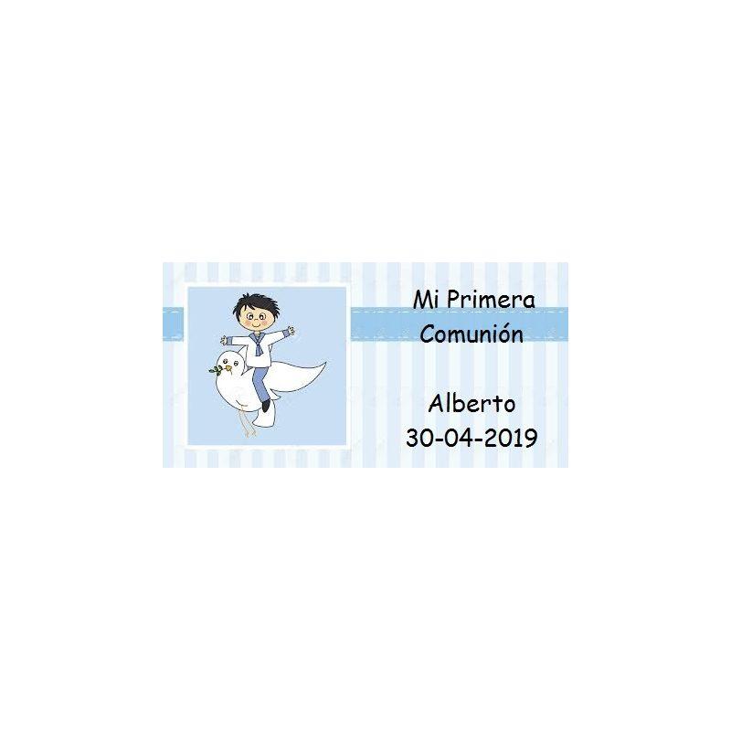 Tarjeta Niño Marinero Paloma Tarjetas para Comunión Gratis0,00 €