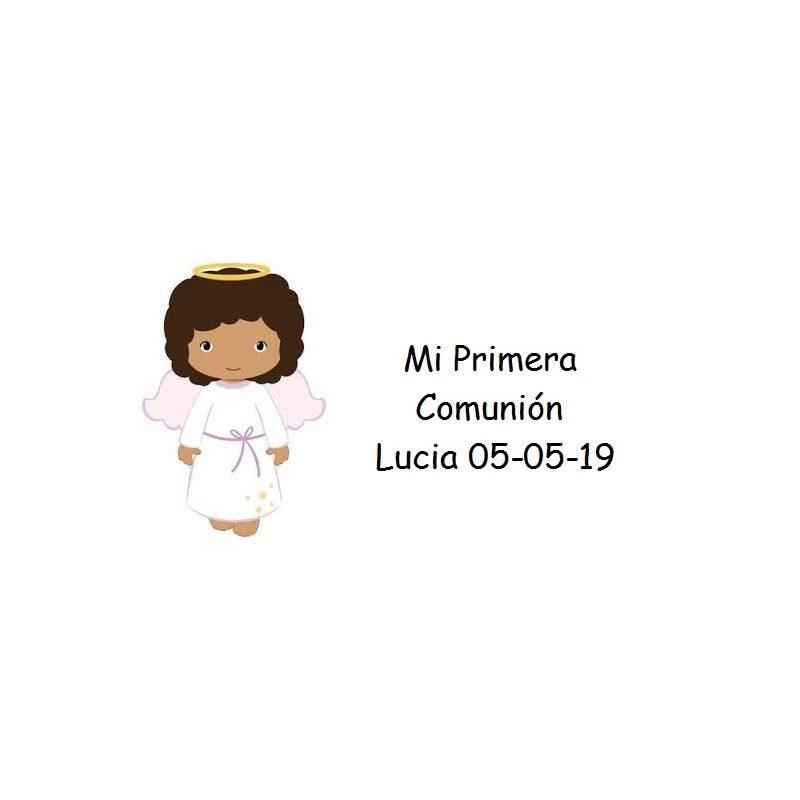 Tarjeta Niña Angelito Moreno Tarjetas para Comunión Gratis0,00 €