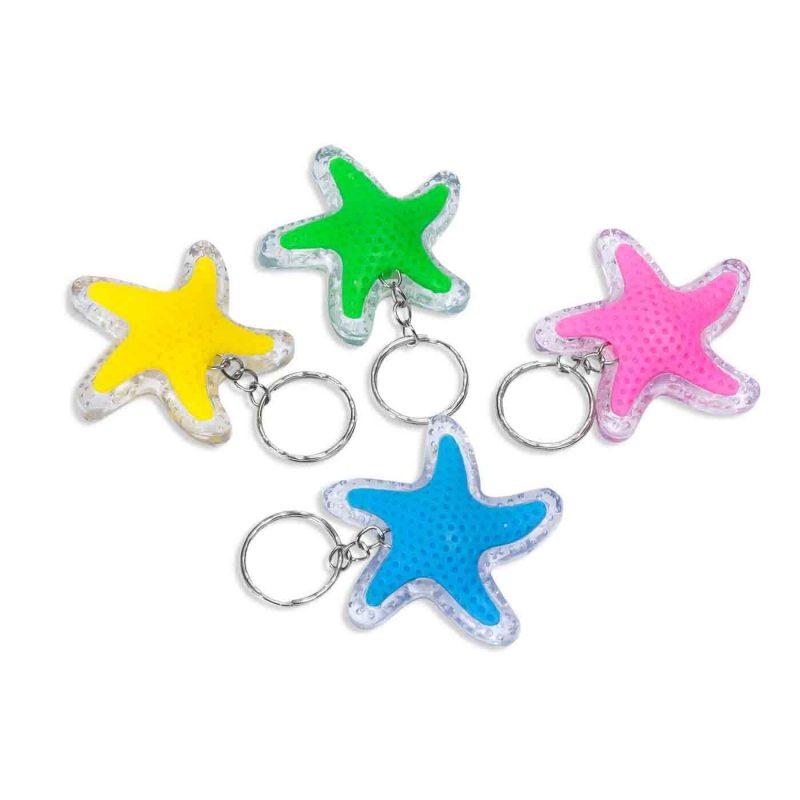 Llavero Linterna Estrellas Detalles para Niños