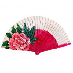 Abanico Pintado Rosa Fucsia Abanicos para invitados Bodas5,13 €