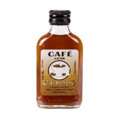 Petaca Cristal Café 100 Ml Botellitas y Miniaturas para Bodas
