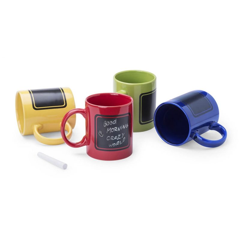 Tazas Colores con Pizarra Tazas Y Mugs