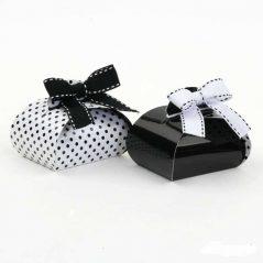Cajas Bombones Negras y Blancas