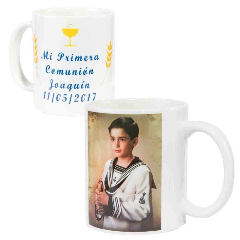 Taza Comunión con Foto Personalizada Niño Tazas Y Mugs