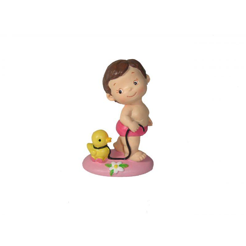 Figura Pastel Niña Patito Figuras Tartas Bautizo3,42 €