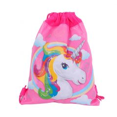 Mochila Petate Unicornio Detalles Comunión para Niños