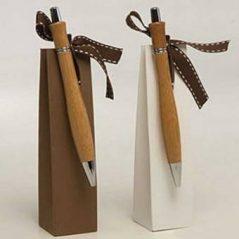 Boligrafos de Bambu con Bombones
