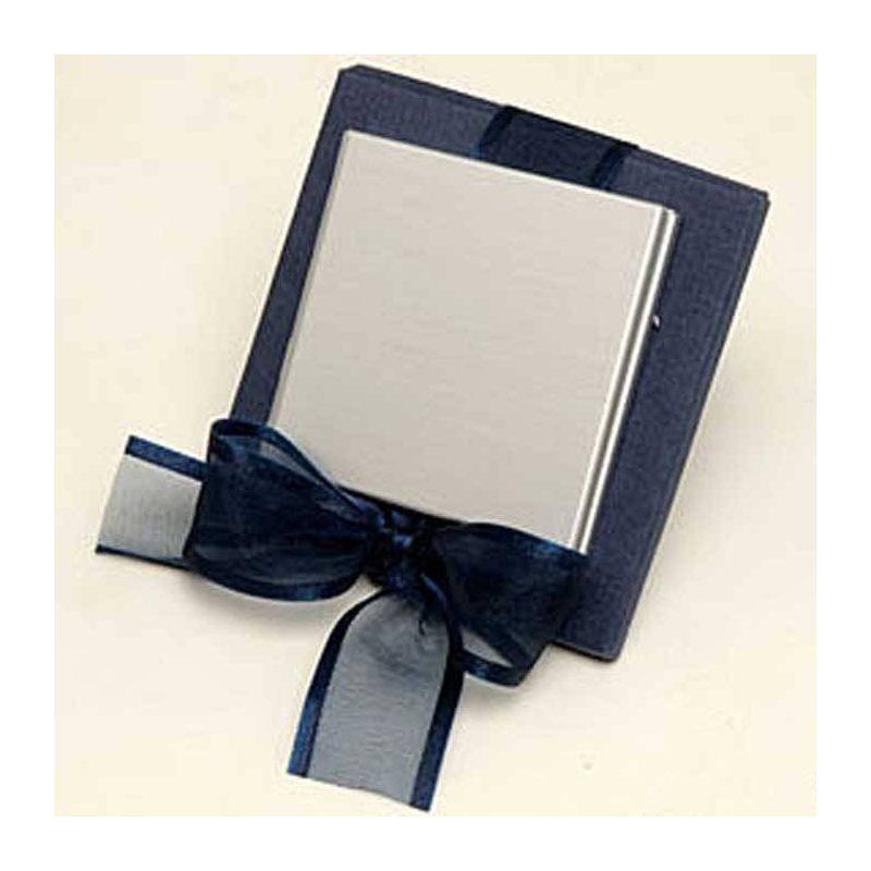 Cajas Azules con Espejo de Mujer Detalles de Boda Baratos