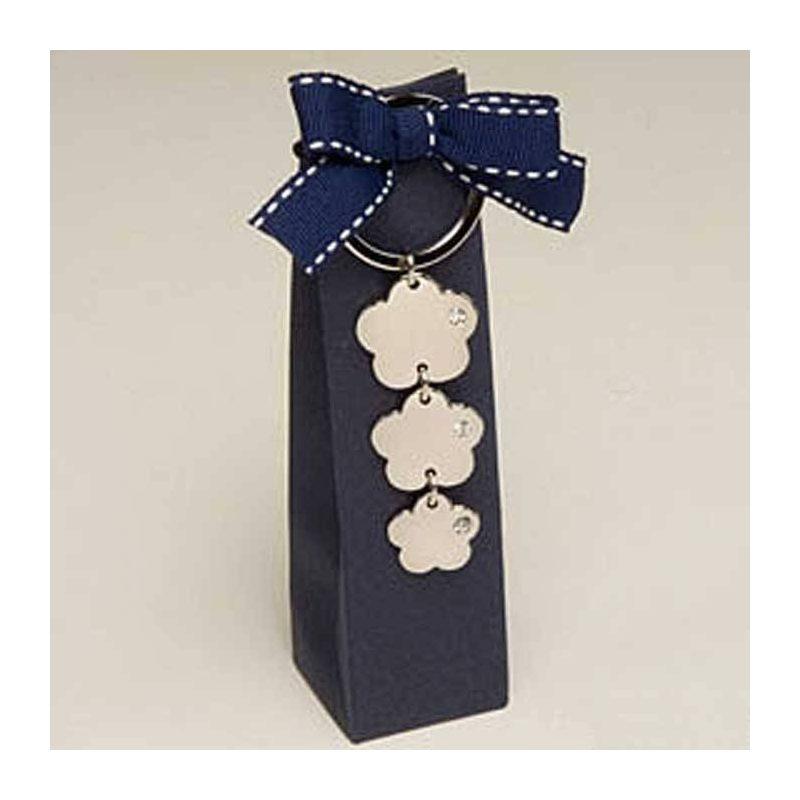 Caja Llavero de Flor Llaveros para Bodas MB84