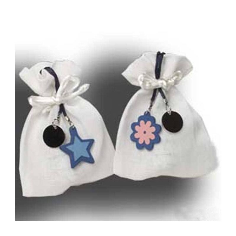 Bolsa de Bombones Flor y Estrella Detalles Dulces de Boda