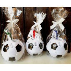 Portalápices Balón con Boli, Bolsa y Lazo